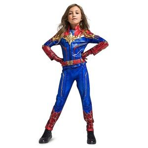 New Captain Marvel Costume Avengers Kids Size 9/10